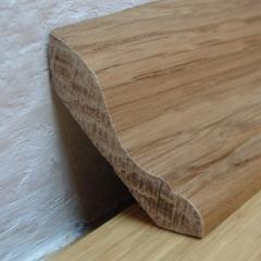 Dřevěná parketová lišta profilová Dub přírodní 27x27mm, 2bm