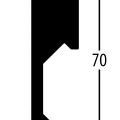 Balterio obvodová lišta 7cm 427 Ořech Venetian 70x14,2mm