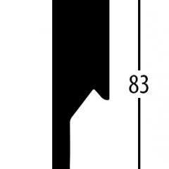 Balterio obvodová lišta 8cm 544 Ořech selekt 83x14mm